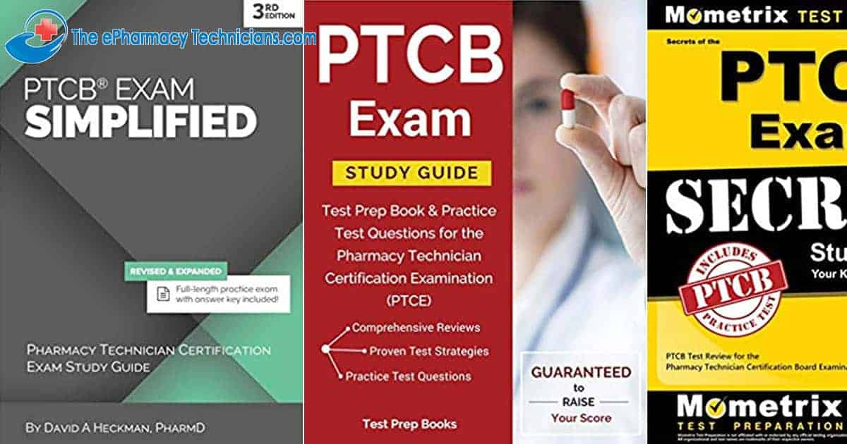 Pharmacy Technician Certification Board Exam Study Guides