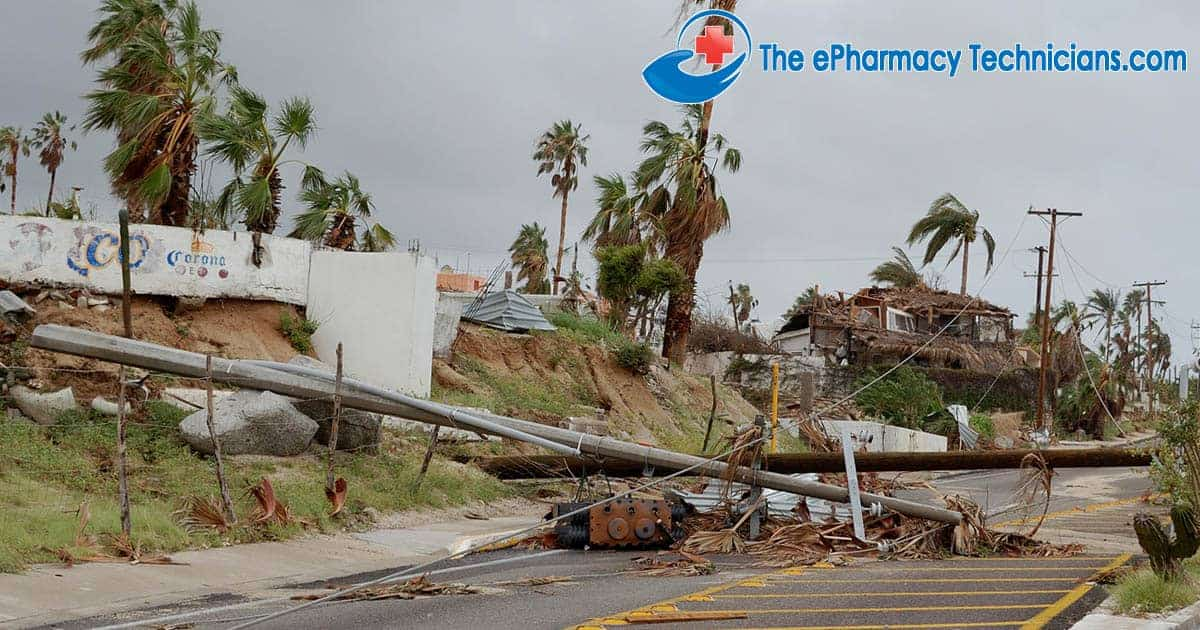 Pharmacy Technicians in Natural disasters